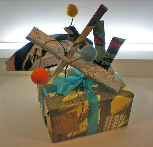 Sculptural Gift Wrap