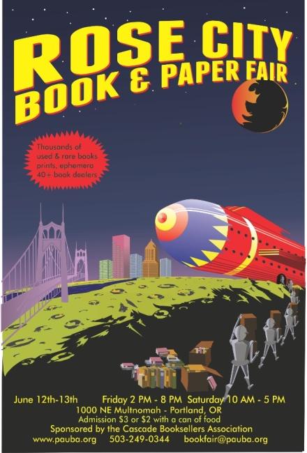 Rose City Book Fair 2015