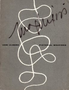 Albers Pictorial Weavings cover