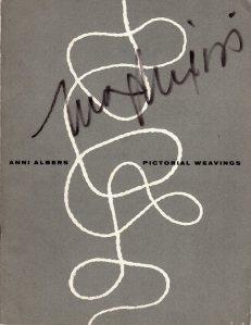 Albers Pictorial Weavings cover