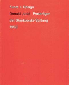 Judd Kunst + Design cover