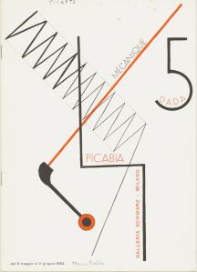 Picabia Mechanique Dada 5 cover