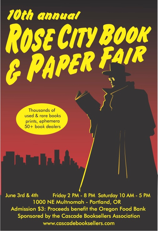 Rose City Book Fair 2016